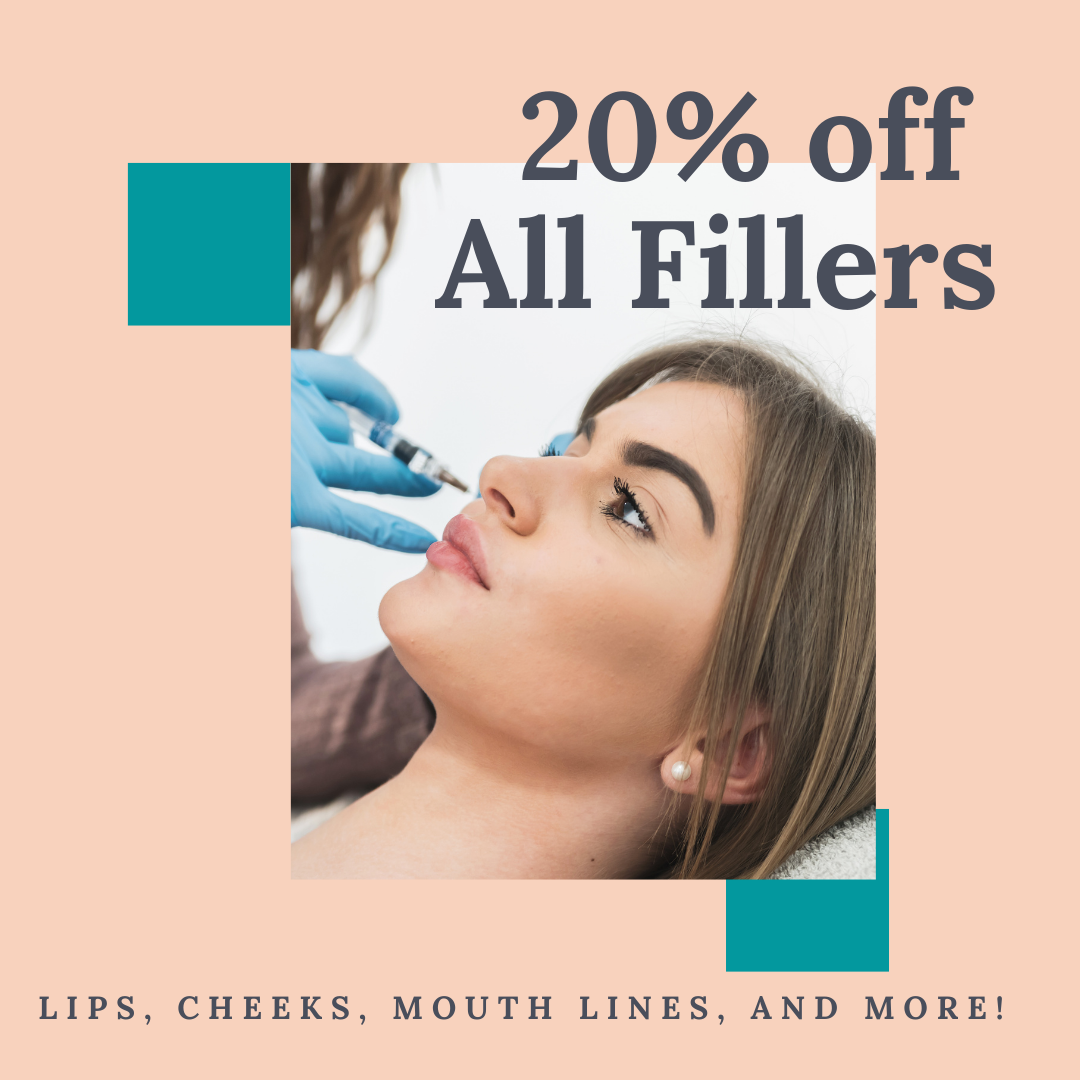 20% Off all Fillers
